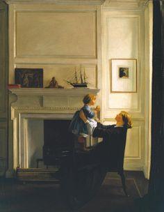 Sir William Rothenstein 'Mother and Child', 1903 © The estate of Sir William Rothenstein. All Rights Reserved 2010 / Bridgeman Art Library