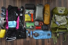 This is what I'll be carrying on my back for the better part of a half year as I trek northbound on the Appalachian Trail next year.