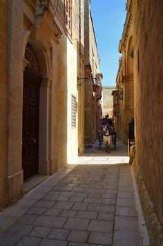 Lost in time, Mdina, Malta Copyright: Krzysztof Kusy