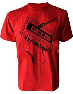 SODAtees classic audio cassette tape DJ club Men's T-SHIRT graphic tee - Red - Small SODAtees http://www.amazon.com/dp/B00X3UT8QG/ref=cm_sw_r_pi_dp_Ps3rvb0JWW82R