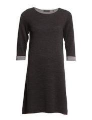Dresses flat knitted - GRANIT MELANGE Dress Flats, Short Sleeve Dresses, Dresses With Sleeves, Fashion, Moda, La Mode, Gowns With Sleeves, Fasion, Fashion Models