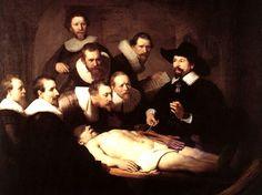 REMBRANDT - Lezione di anatomia - 1632