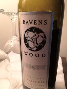 Nice dark fruits, not jammy. It was awesome with a beef roast. I heart you Ravenswood. This was the '09 vintage.