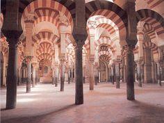 El espacio interior más espectacular que conozco, ¡sin duda alguna! · La mezquita de Córdoba