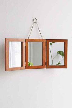 Tri-Fold Vanity Mirror // …