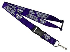 ~Colorado Rockies Lanyard - Purple~backorder