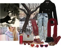 """Vintage Winter"" by gregory-joseph on Polyvore"