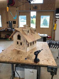 Farm stand--woodshop miniature