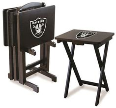 Use this Exclusive coupon code: PINFIVE to receive an additional 5% off the Oakland Raiders TV Trays at SportsFansPlus.com