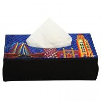 Mumbai Cityscape Blue Soft Tissue Box by The Elephant Company Tissue Box Holder, Tissue Box Covers, Tissue Boxes, Best Online Shopping Sites, Home Decor Online, Cushion Covers, Mumbai, Home Goods, Elephant