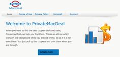 Débarrassez-vous de PrivateMacDeal, l'élimination complète de l'adware PrivateMacDeal est très important pour assurer la protection des données système importantes.