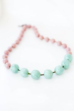 Bobble Bead Necklace