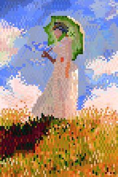8bit Claude Monet