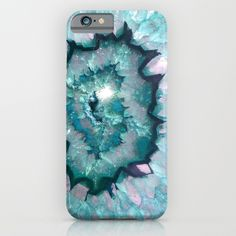 The coolest geode iPhone cases: Teal Agate