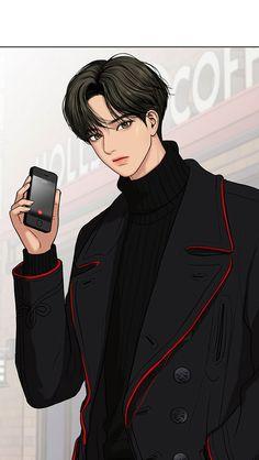 The Secret of Angel - Handsome Anime Guys, Handsome Boys, Korean Anime, Anime Couples Drawings, Webtoon Comics, Chica Anime Manga, Anime Scenery, Boy Art, Cute Faces