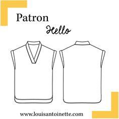 Hello Shirt Pattern | Sewing Pattern | DIY | Women Apparel