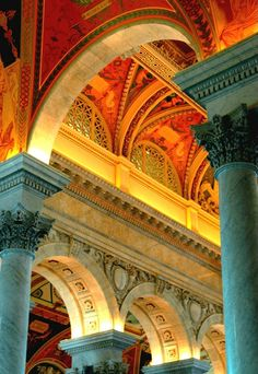 Library of Congress- Another one of my favorite places in D.C. Total eye candy.