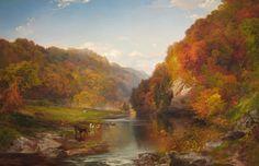 Thomas Moran Paintings | 19th century American Paintings: Thomas Moran