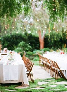 Romantic wedding decor at this Carpinteria wedding!