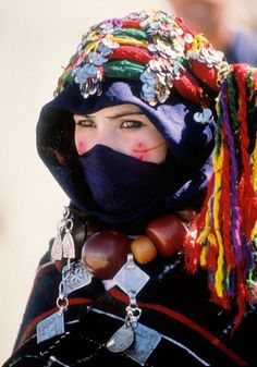 Mujer Berber, Marruecos