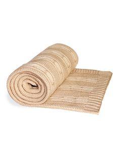 Теплый шерстяной плед добавит уюта вашей комнате в натуральном стиле Cozy Blankets