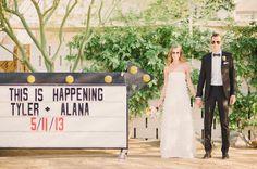 Laid Back Ace Hotel Palm Springs Wedding: Alana + Tyler (Beau & Arrow + Honey Honey Photography)