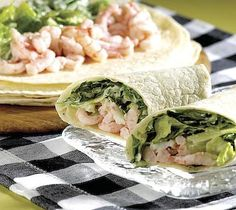 Thrifty Foods - Recipe - Shrimp Caesar Salad Wraps
