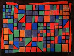 Glass facade by Paul Klee: History, Analysis & Facts - DIY and crafts Oil Painting On Canvas, Canvas Art Prints, Bauhaus, Paul Klee Art, Glass Facades, Cubism, Art Plastique, Famous Artists, Abstract Art