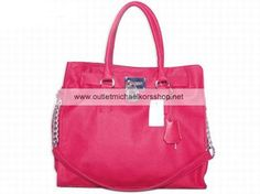 Michael Kors Outlet Hamilton Large Tote Red