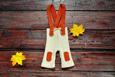 Newborn Photography Set   Fall Upcycled Tan by ToodleBugCreations