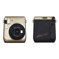 Fuji collaborates with Michael Kors for a fashionable instant camera ❤ liked on Polyvore featuring accessories