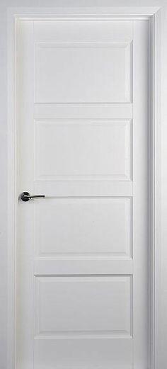 4 Panel White Solid Wood Doors throughout Beach condo Interior Door Styles, Interior Doors For Sale, Door Design Interior, Interior Barn Doors, Exterior Doors, Contemporary Internal Doors, White Internal Doors, White Doors, Double Doors