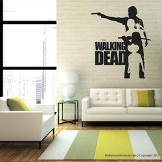 Walking Dead Wall Decal Sticker Decor Sticker Vinyl The Walking Dead Collection3 #TheBananaAstronaut #Modern