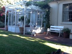 Late afternoon sun at Doncaster Cottages in Port Elizabeth SOUTH AFRICA