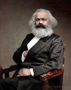 Historical figures of the world – Color by Klimbim Karl Marx, Propaganda Art, Gibson Girl, Historical Art, Soviet Union, Interesting Faces, History Facts, Trinidad, Famous People