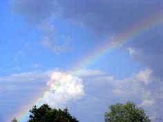 Tapeta: duha a mraky Clouds, Wallpaper, Outdoor, Outdoors, Wallpapers, Outdoor Games, The Great Outdoors, Cloud
