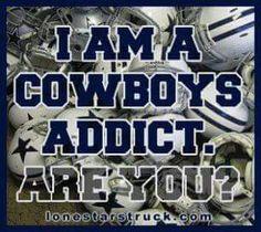 Dallas cowboys for life