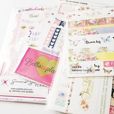 sticker I have yet to play with  they're all so pretty i dont even want to use them! But no i will not be a hoarder. Must. use. stickers.  . . . . . . . . . #planner #plannergirl #plannerlove #plannernerd  #planneraddict #planneraccessories #plannergoodies #plannersupplies #eclp #filofax #kikkik #plannerstickers #stickers #plannerjunkie #etsystickers #plannerhaul #stickerhaul #plannerstuff by xoczarlene