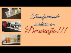 Transformando madeira em Decoração #clubedacasa - YouTube
