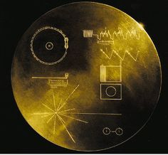 The first human-made object to enter interstellar space, Voyager carries the first human-made mixtape destined for the depths of the universe.  http://hyperallergic.com/84377/voyager-has-left-the-solar-system-taking-with-it-the-sounds-of-space/