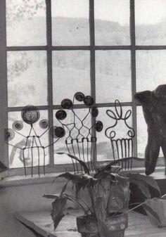 Alexander Calder jewelry.