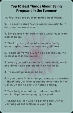 Pregnant in the summer? Here are the best things about it! This will be my summer pregnancy where im in the trimester for it. Survival, Dark Circles Under Eyes, I'm Pregnant, Pregnant Funny, Everything Baby, Baby Time, Baby Hacks, Baby Bumps, Having A Baby