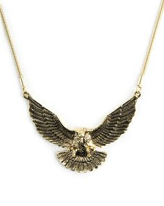 The Free As A Bird Necklace by JewelMint.com, $29.99