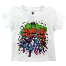 """Marvel Avengers """"Marvel"""" White Toddler T-Shirt"""