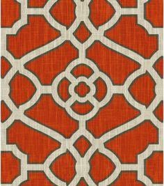 "Upholstery Fabric 54""-Criterion Mandarin"