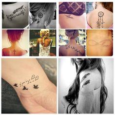 So obsessed that I made a picstitch. Pretty tattoos ❤ I want them all! Pretty Tattoos, Cool Tattoos, Tatoos, I Tattoo, Tattoo Quotes, Dream Tattoos, Make Your Mark, Tattoo Inspiration, Tatting