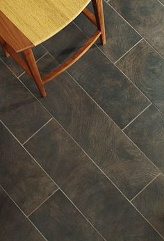 Tile that looks like Wood Flooring - someone just told me about this tonight. Never seen it before