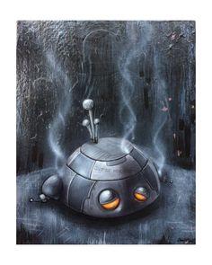 Wheems! ~ Raygun & Robots @ LTD. Gallery by Chris Brett, via Behance