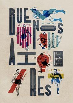 Buenos Aires Ciudad de Fútbol by Jorge Lawerta