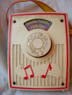 Genuine Whoops Fisher Price Pocket Radio Papered for Twinkle Plays Small World on Etsy, $122.99 AUD